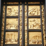 The east door of the Baptistry by Ghiberti