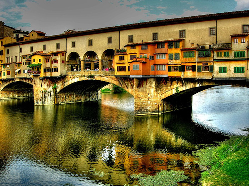 Always charming Ponte Vecchio