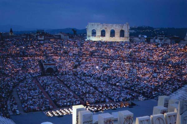 Opera in Verona's Arena