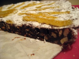 Panforte Siena Cake