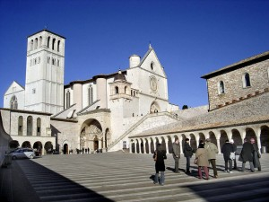 The Basilica di San Francesco in Assisi