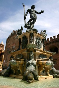 The spectacular Fountain of Neptune.
