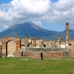 The Temple of Jupiter with Vesuvius