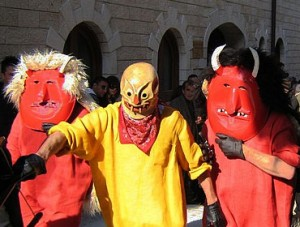 Easter Devils in Sicily