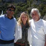 Brandi, Vijay & Mike Rossi (Estero, FL)