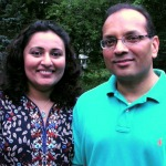 Lathika and Chandra Nair (Mount Sinai, NY)