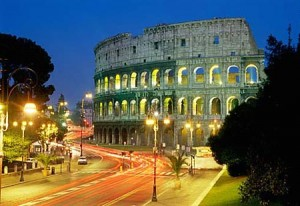 The Colosseum at twilight, a must-see on any Rome by night tour.