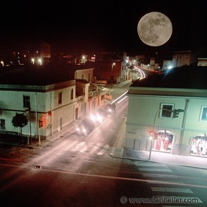Full Moon, Oristano, Sardinia