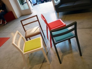 Chairs, from a recent Milan Design Week exhibit