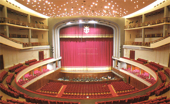 The Teatro Comunale in Florence, one of Europe's great venues and epicenter for the annual Maggio Musicale