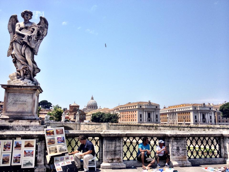 Sunny day in Rome
