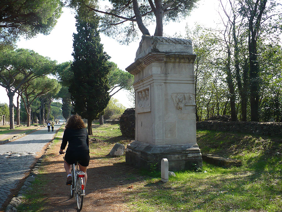Via Appia Antica cycling bike rental