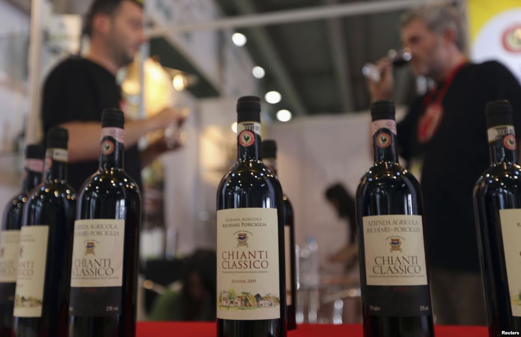 Florentine Chianti Wine from Florence Italy