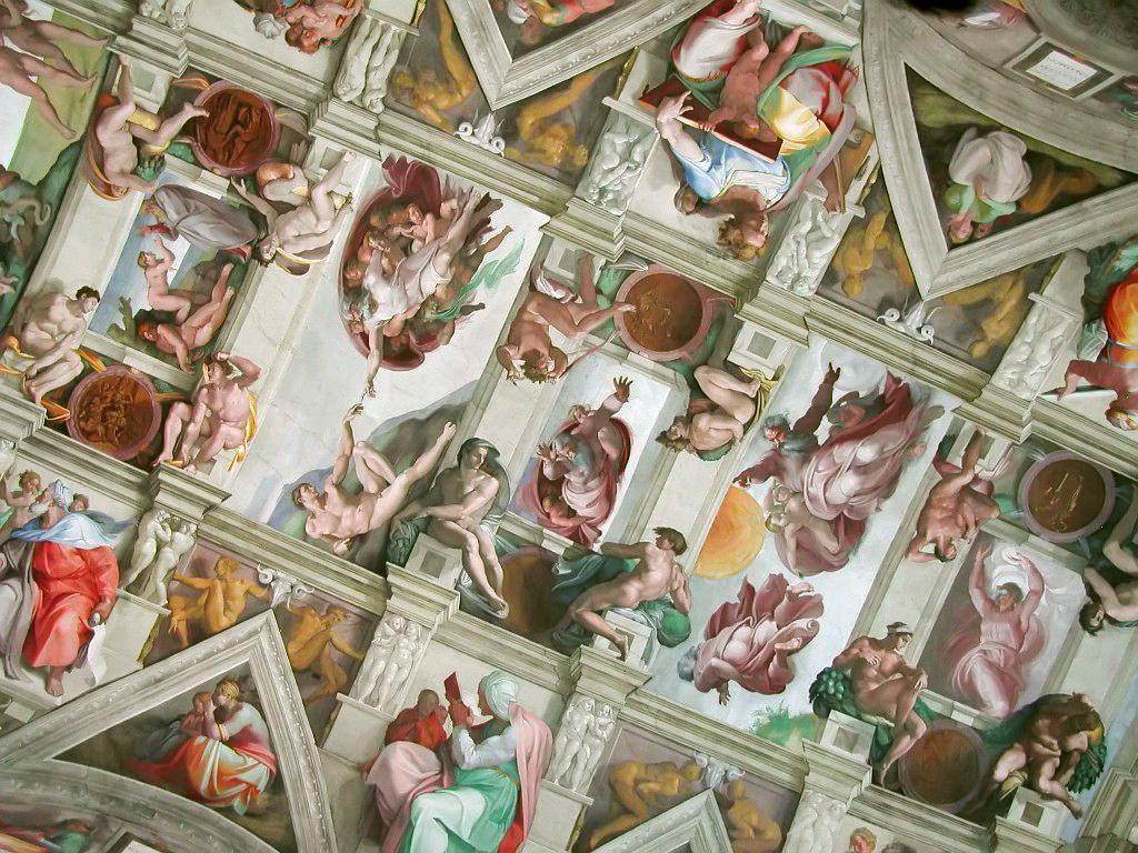 Sistine Chapel Vatican City Italy