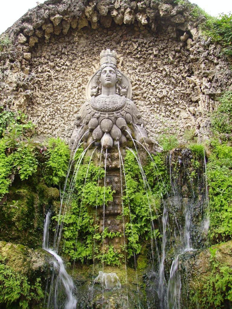 Fountain of Diana, Tivoli Gardens, Villa D'Este, Rome, Italy