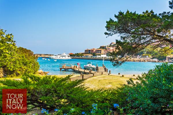 Harbor in Porto Cervo Sardinia Italy