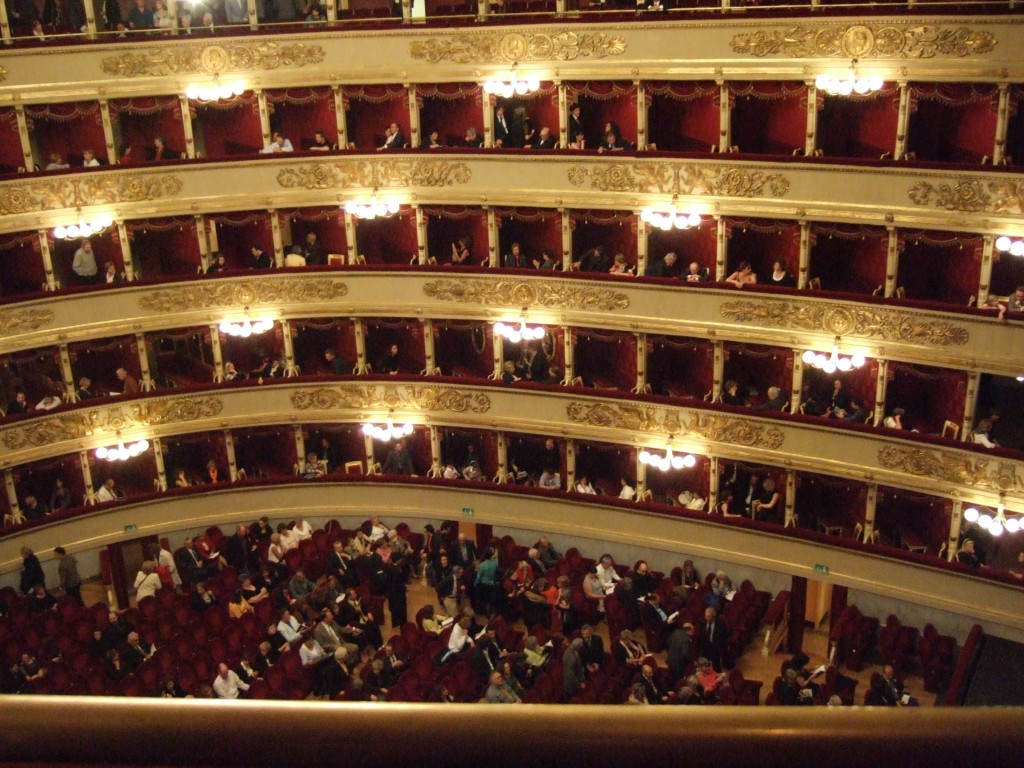 La Scala Theater, Milan, Italy