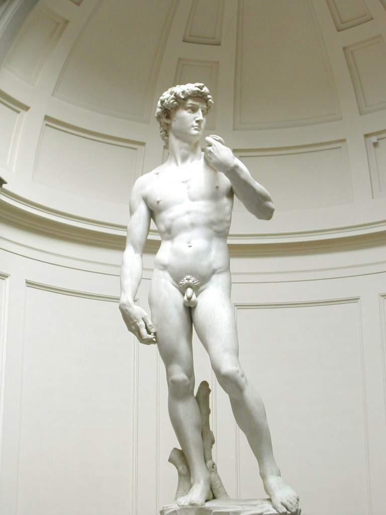 David by Michelangelo in Florence Italy