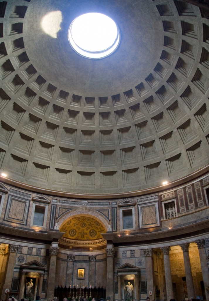 The Oculus, Pantheon, Rome, Italy