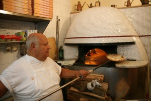 Pizzeria with oven Pizza in Naples