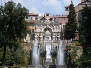 Villa d'Este Tivoli Gardens, Rome, Italy