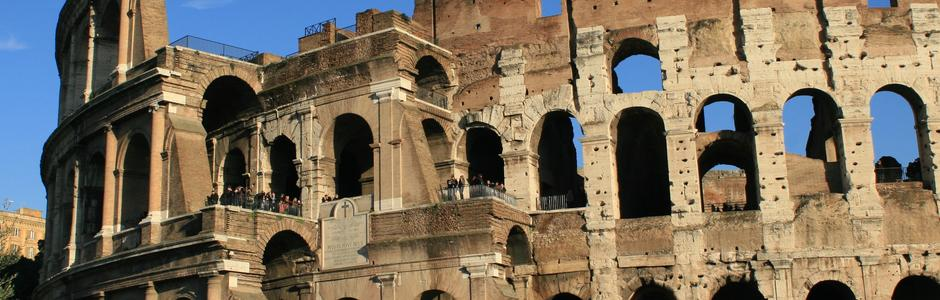 Third Tier, Colosseum, Rome, Italy