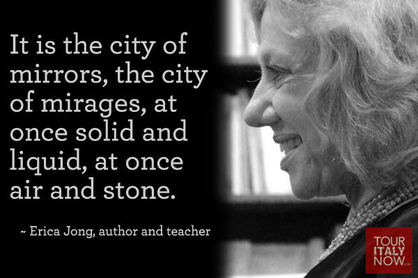 Italy quotes Erica Jong