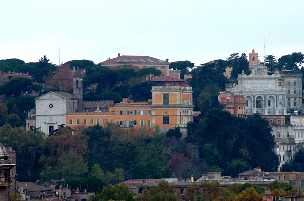 Gianicolo Hill Janiculum Rome