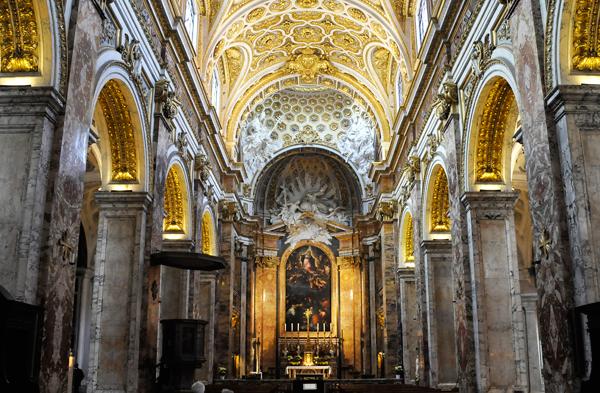 Rome San Luigi dei Francesi italy interior