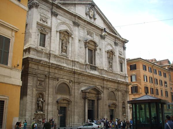 San Luigi dei Francesi Rome Italy facade
