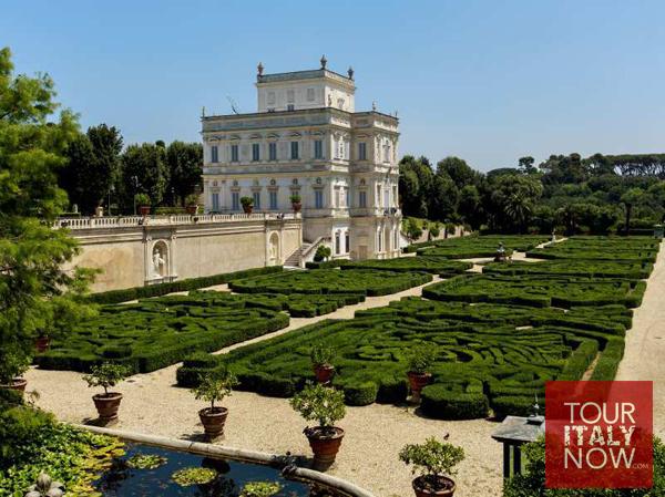 villa pamphili rome italy gardens main villa