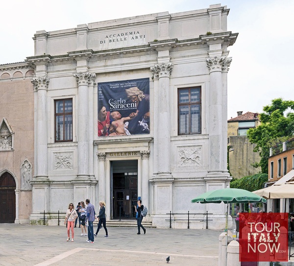 Gallerie dell accademia venice italy - facade