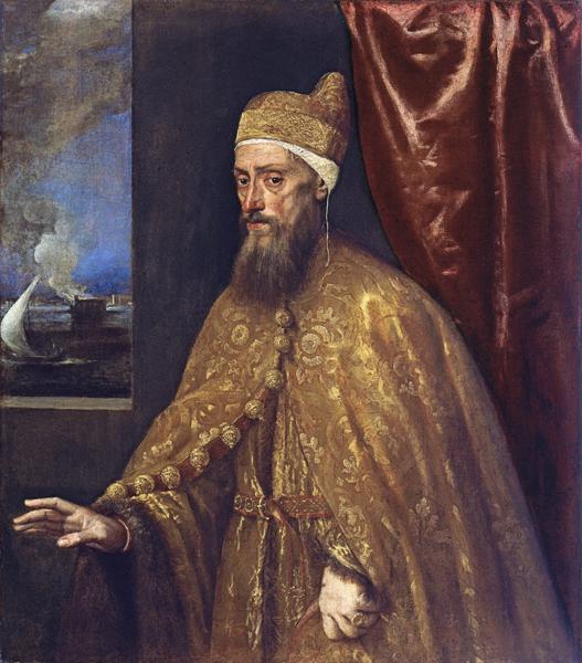 Titian_Portrait_of_Doge_Francesco_Venier_Venice_italy