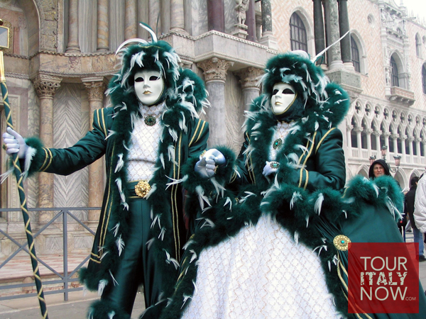 carnevale venice italy - lord and lady mask and costume matching pair couple