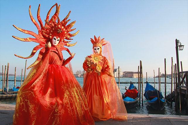 Carnevale Venice Italy - masks