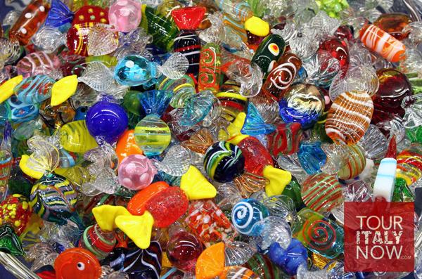 murano venice italy - glass sweets
