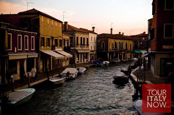 murano venice italy - murano canal