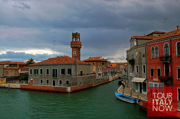 murano venice italy - view of the island