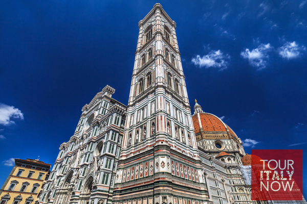 santa maria del fiore duomo florence italy - campanile bell tower