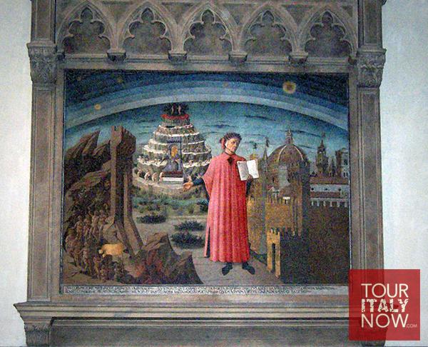 santa maria del fiore duomo florence italy - dante alighieri divine comedy