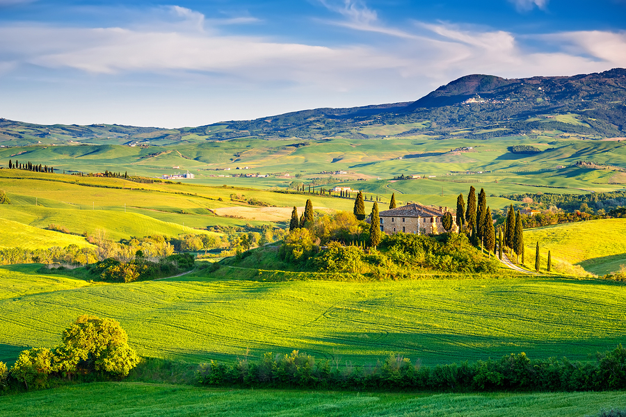 beautiful tuscany landscape italy - photo #5