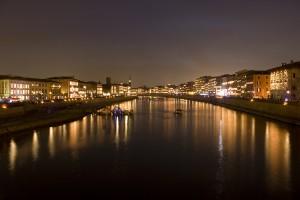River Arno in Pisa