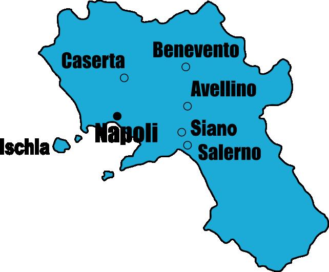 Campania Map