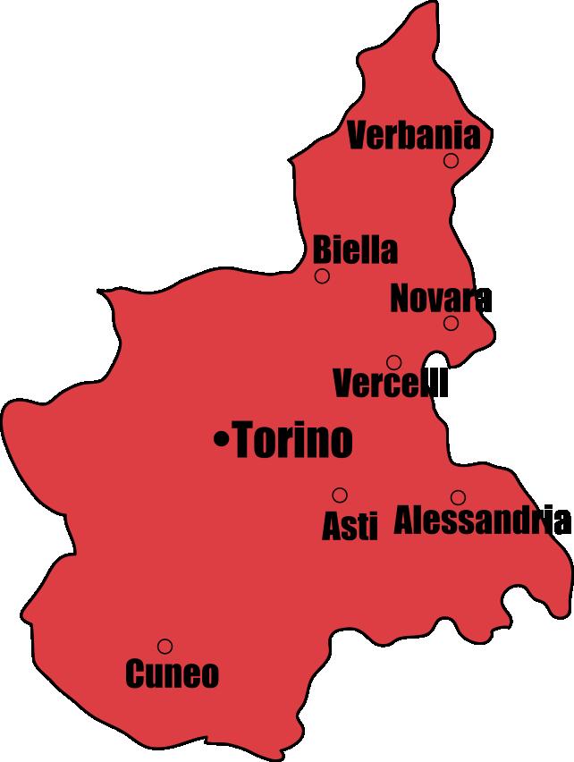 Piedmont Map | Tour Italy Now