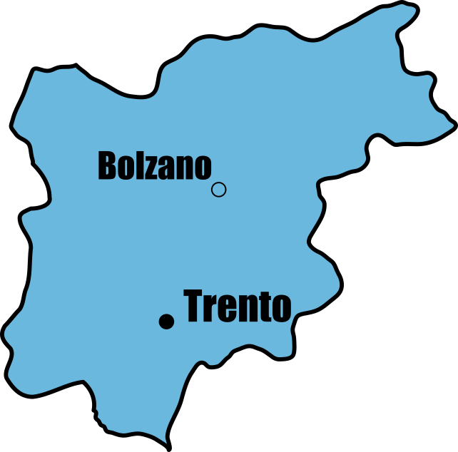 Trentino Alto Adige Map | Tour Italy Now