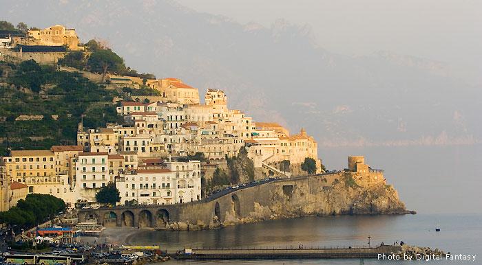 Amalfi at Sunset