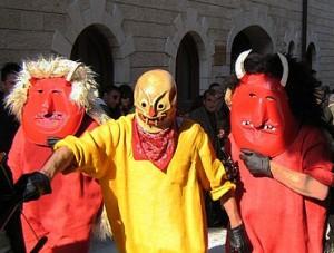Easter Devils in Sicily