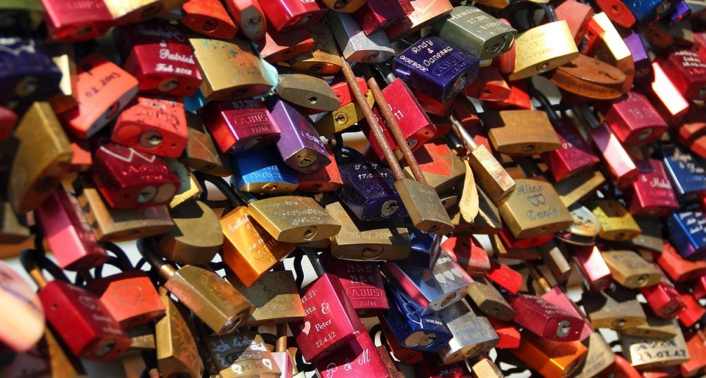 Lucchetti dell'Amore - Padlocks of Love