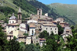 Cocullo, site of the Festival of the Snakes