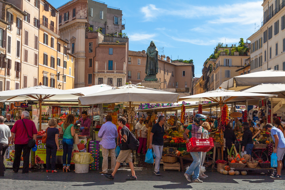 Campo de 'Fiori | Tour Italy Now